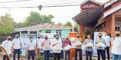 Affco Riau Bagikan Sembako kepada Warga Terdampak